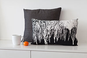 Night Forest Cushion - cushions