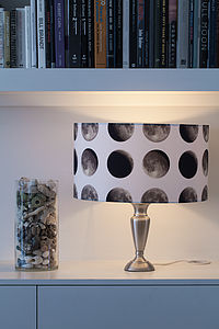 Lunar Moon Cycle Lampshade - lamp bases & shades