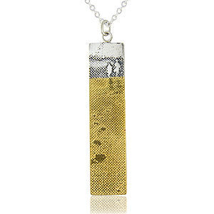 Footprints In The Sand Necklace - gifts for her