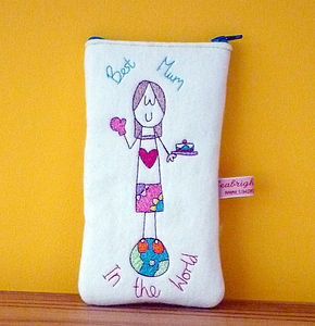 'Best Mum In The World' Glasses Case - glasses cases