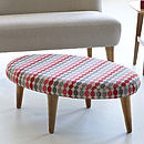 50's Icons Oval Footstool