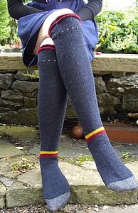 Long Knitted Socks - socks