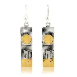 Me And You Watching The Sunset On The Beach Earrings - view all valentine's gifts