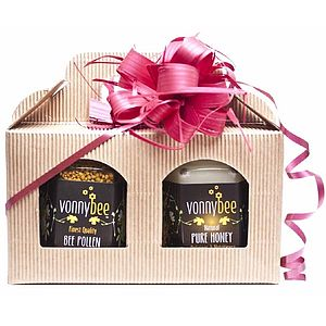 Honey And Pollen Hamper - detox healthy food