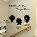 A Moment In Time Wall Art Stickers