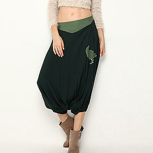 Magpie Harem Culottes Trousers - women's fashion