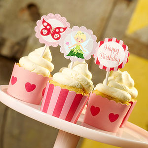 Fairy Cupcake Toppers - kitchen
