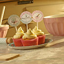 Baking Cupcake Toppers