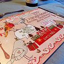 Personalised Christmas Story Placemats