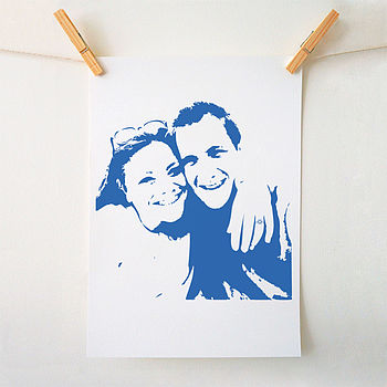 Custom Illustrated Portrait Print
