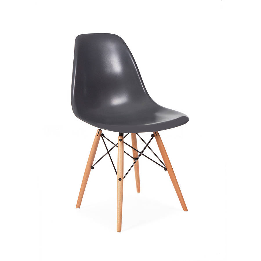 dining chair eames style by ciel. Black Bedroom Furniture Sets. Home Design Ideas