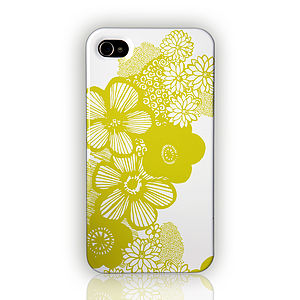 'Dotty Flowers' Design By Anja Jane - phone & tablet covers & cases