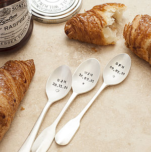 Personalised Initial And Date Spoon