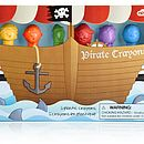 Pirate Crayons Set