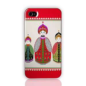Russian Dolls iPhone And Samsung Galaxy Case - phone & tablet covers & cases