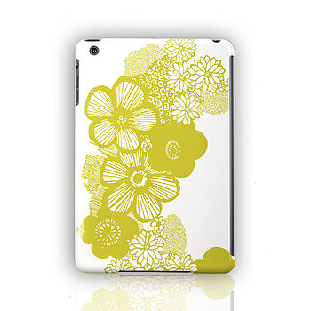 'Dotty Flowers' Design For iPad , Mini And Air Case