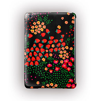 'Strawberries' Design For iPad , iPad Mini And Air Case