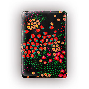 'Strawberries' Design For iPad , iPad Mini And Air - technology accessories