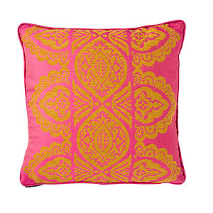 India Cushion - patterned cushions