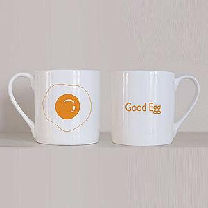 'Good Egg' Mug - mugs