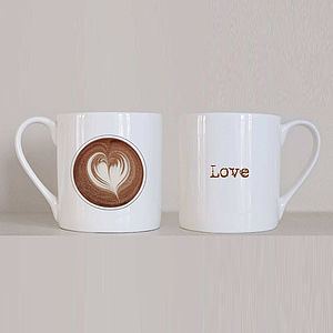 'Love Coffee' Mug - tableware