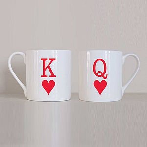'King And Queen' Mug