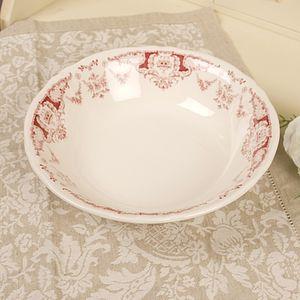 Vintage Parisian Salad Bowl / Platter - bowls