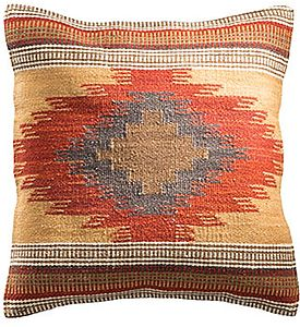Handwoven Kilim Cushion - cushions