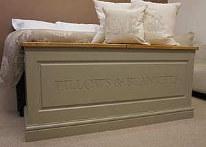 Blanket Box In A Choice Of Sizes And Colours - chests & blanket boxes