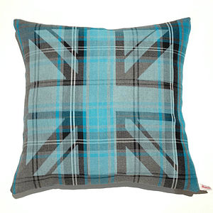 Potter Union Jack Cushion - bedroom