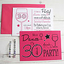 50 Party Invitation Postcards