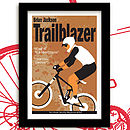 Trailblazer mountain bike print mud pack