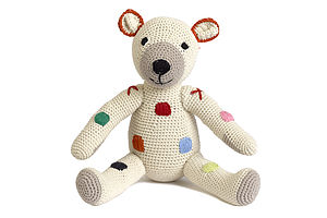 Spotty Crochet Teddy