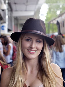 Wool Felt Belted Fedora - summer accessories