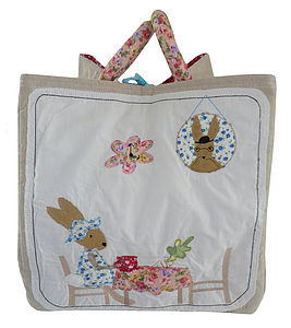 Little Rabbit Toy Bag - children's storage
