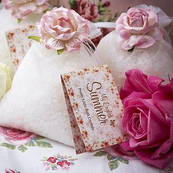 Three Bags Of Sparkling My English Summer Bath Crystals