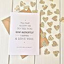 Pride And Prejudice Valentines Card