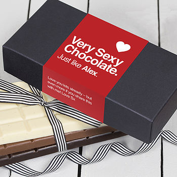 Very Sexy Personalised Chocolate Box