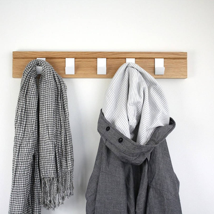 Perfect Free Coat And Boot Rack Image: 45 Oak Coat Rack By John Green