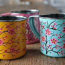 Hand Painted Stainless Steel Mug