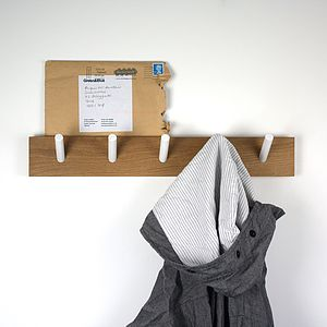 Peg Coat Rack - bathroom