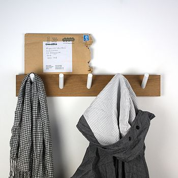 Peg Wooden Coat Rack