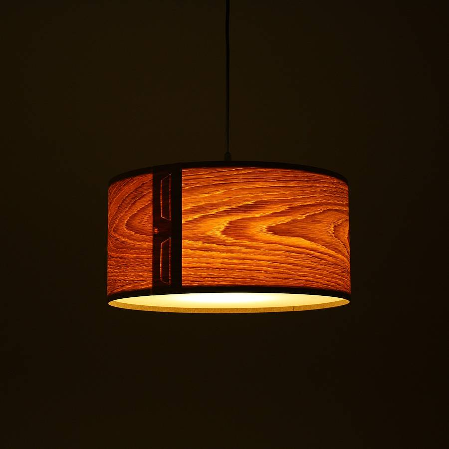 Tab Oak Veneer Light Shade By John Green