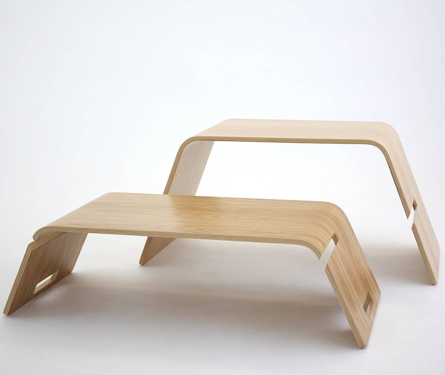 Embrace Bent Plywood Coffee Table By John Green Notonthehighstreetcom