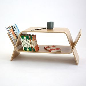 Embrace Bent Plywood Coffee Table - coffee tables