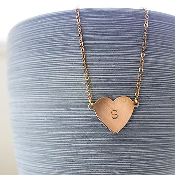 Single Love Letter Necklace