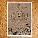 Enchanted Forest Wedding Stationery
