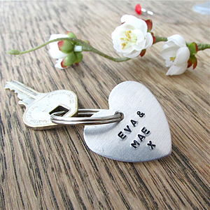 Personalised Children And Family Keyring - keyrings