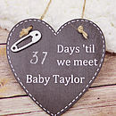 Days 'Til We Meet Our Baby   Chalkboard
