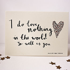 Love Quote Cards - anniversary cards